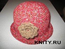Ажурный шарф и шляпка